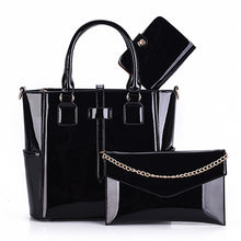 3 - Set Composite Feminina Leather Bag