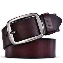 Pin Buckle Vintage Leather Fancy Belt