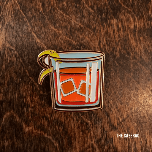 Dirty Coast Press Pins Single Pin Sazerac Enamel Pin