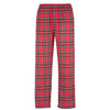 Mens 100% Cotton Classic Chequered Check Checked Flannel Lounge Pant Trouser