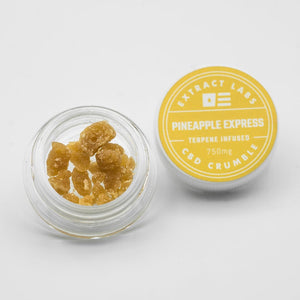 CBD Wax uk extract labs pineapple express