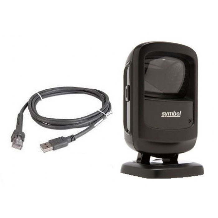 Zebra/Motorola Symbol DS9208 Handheld 2D Barcode Scanner with USB Cable