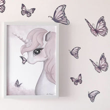 Rose The Unicorn Print - Little Oak + Co
