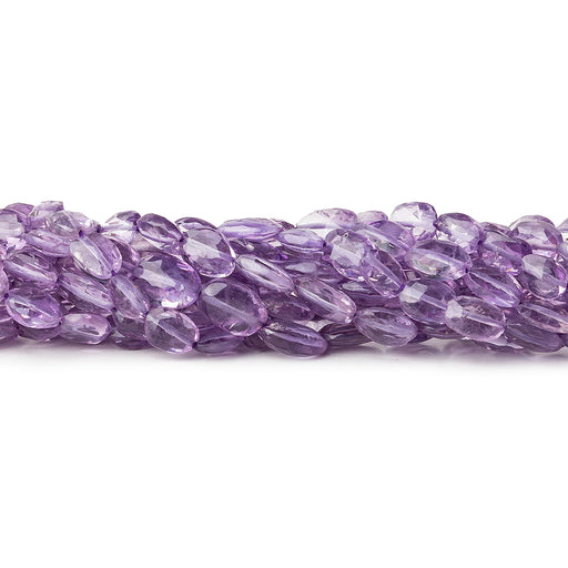 7x5mm Amethyst Faceted Ovals Beads 44 beads14 inch