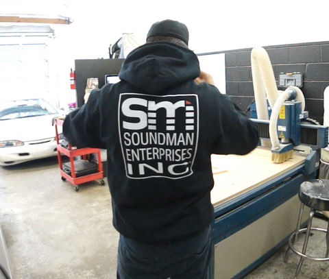 Soundman 2019, Fitted Soft Hoodie