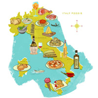 A Gastronomic Map of Italy's Best Local Food