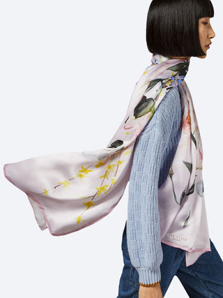 Yeltuor - TED BAKER - SCARVES - TED BAKER ELIZZIA SILK SCARF -  -