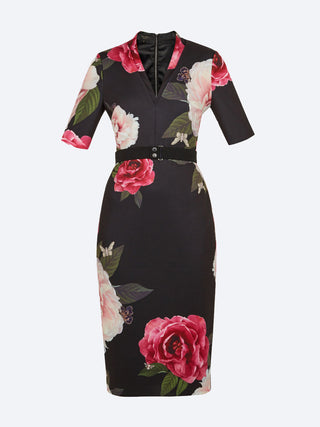 Yeltuor - TED BAKER - Dresses - TED BAKER GILANNO MIDI DRESS -  -