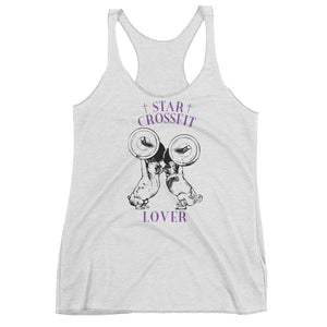 Star Crossfit Lover Women's Racerback Tank