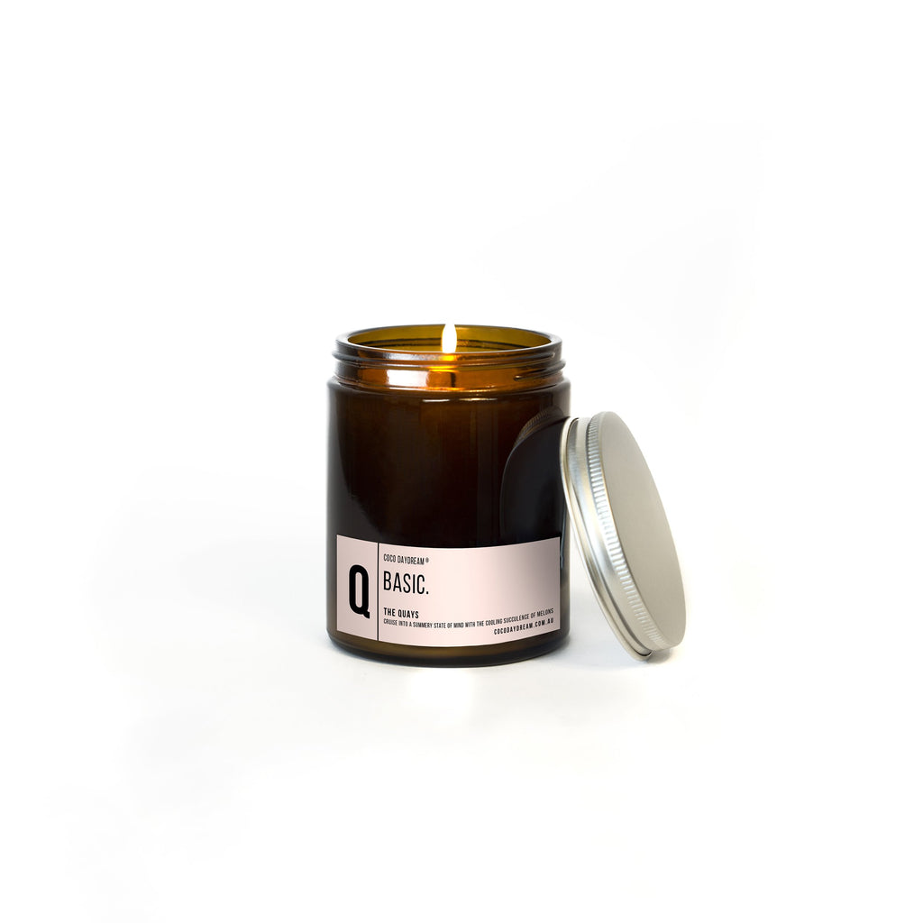 Basic Candle. Q - The Quays