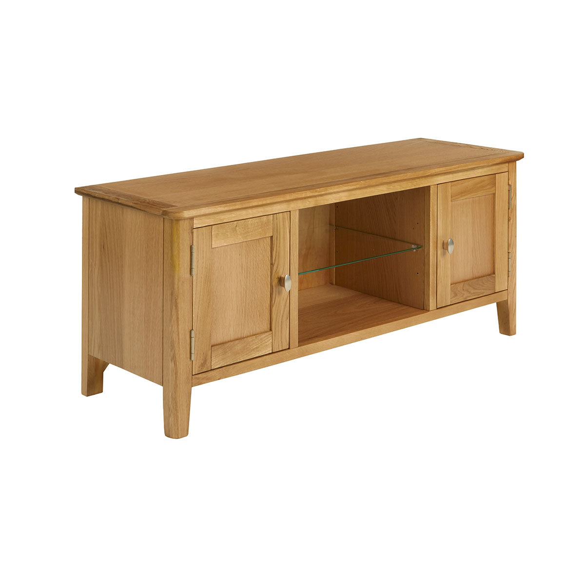 Bath Oak Large TV Unit