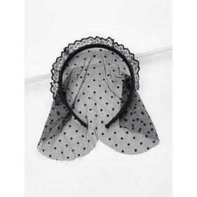Dot Lace Headband