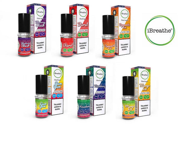 iBreathe Cloud eJuice