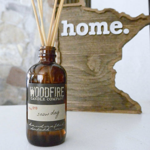 Woodfire Candle Company - Amber Reed Diffuser