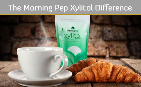 The Morning Pep Xylitol Difference