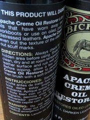 Bickmore Apache Cream Restores Oiled Leather - BIC10FPR111