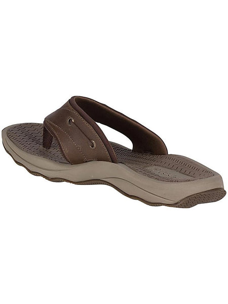 Men's Sperry Brown Outer Banks Thong Sandal STS17566 Inner Sandal