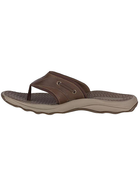 Men's Sperry Brown Outer Banks Thong Sandal STS17566 Outer Sandal