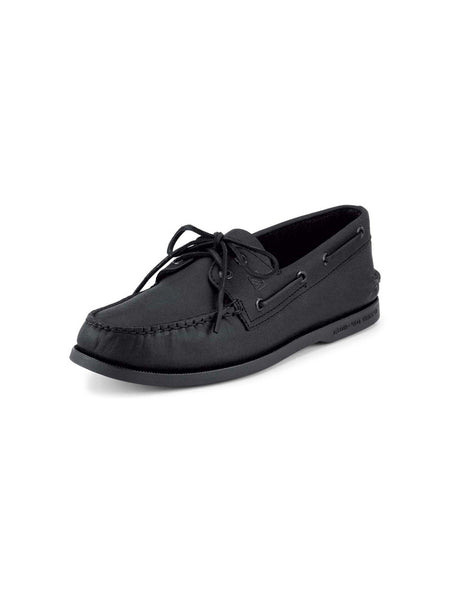 Men's Sperry Black Authentic Original 2-Eye Boat Shoe 0836981