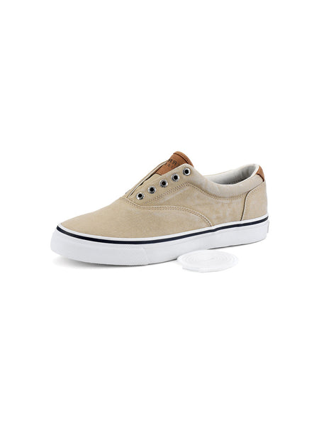 Men's Sperry Chino Striper CVO Salt Washed Twill Sneaker 1048065