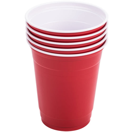 Dart Solo P12SR Red 12 oz. Plastic Cup  1000/cs