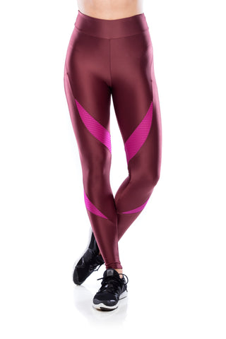 Legging Impact - Dark Burgundy