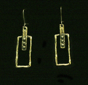 Bronze Earrings - SKU# KU123 BRONZE