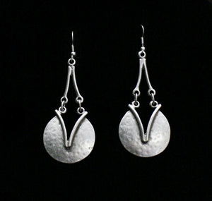 Pewter Earrings - SKU# KU40