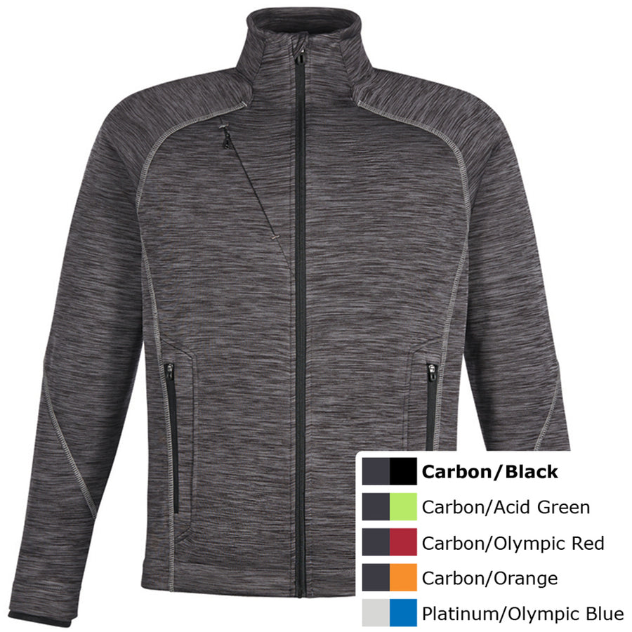 NORTH END MENS BONDED FLEECE JKT - Advanced Sportswear Inc, - Newport, MN