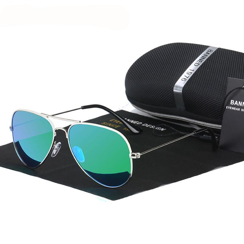 Classic HD polarized metal frame Aviation Sunglasses