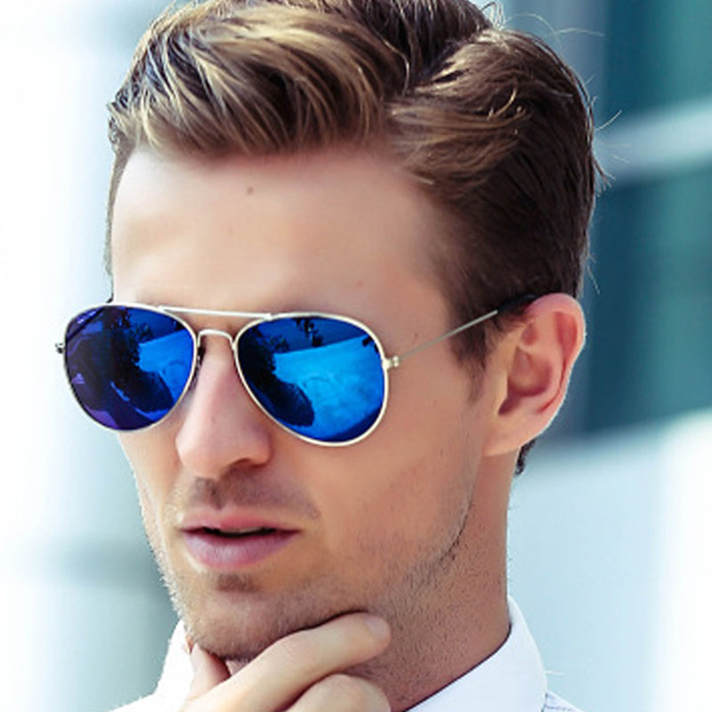 Aviator Sunglasses Gold frame Glasses - UV400 Shades