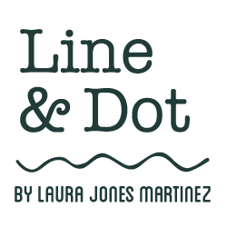 Line & Dot by Laura Jones Martinez