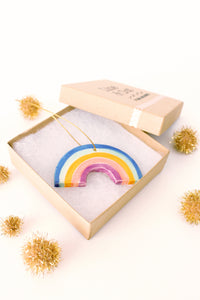 Little Rainbow Ornament - Dark Colors