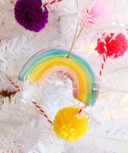 Load image into Gallery viewer, Little Rainbow Ornament - Light colors