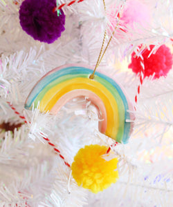 Little Rainbow Ornament - Light colors