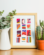Load image into Gallery viewer, Colors & Shapes Art Print