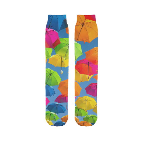 alloverprint.it Accessories 45X10 cm Overall Print Tube Socks - Serious Shade