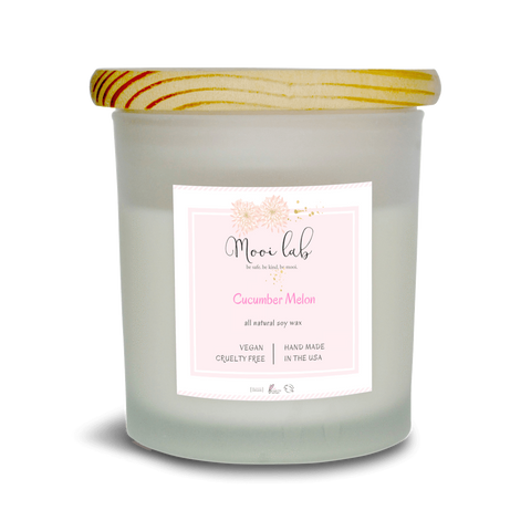 mooi lab Home - Candles Cucumber Melon Soy Candle