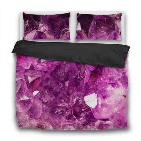 Printy6 Bedding Sets US Twin Custom Printed 3-Piece Duvet Cover Set - Amethyst