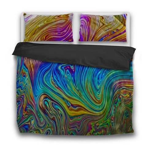 Printy6 Bedding Sets US Twin Custom Printed 3-Piece Duvet Cover Set - Bubble
