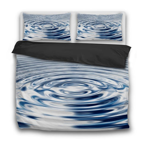 Printy6 Bedding Sets US Twin Custom Printed 3-Piece Duvet Cover Set - Drop