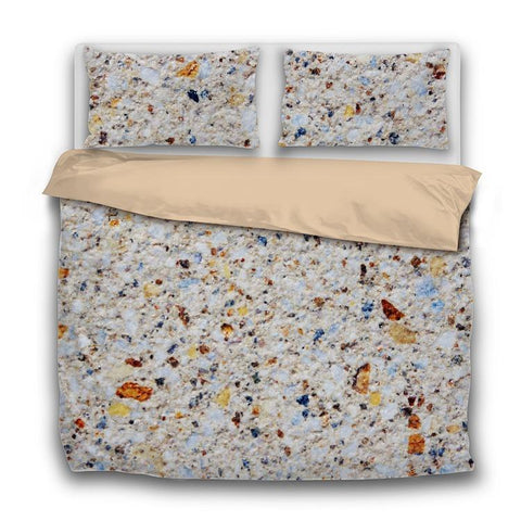 Printy6 Bedding Sets US Twin Custom Printed 3-Piece Duvet Cover Set - Stone