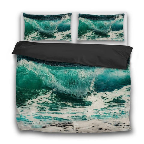 Printy6 Bedding Sets US Twin Custom Printed 3-Piece Duvet Cover Set - Surf