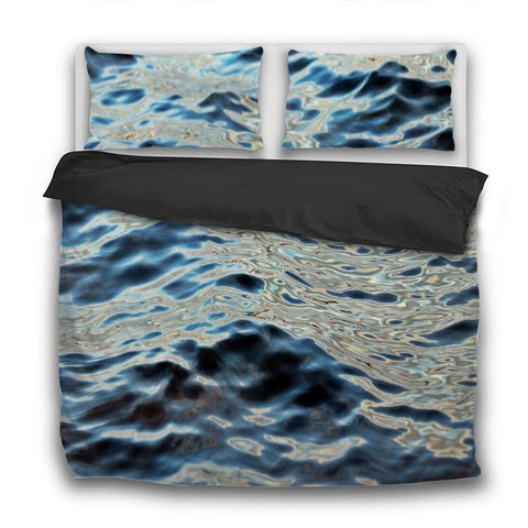 Printy6 Bedding Sets US Twin Custom Printed 3-Piece Duvet Cover Set - Waves