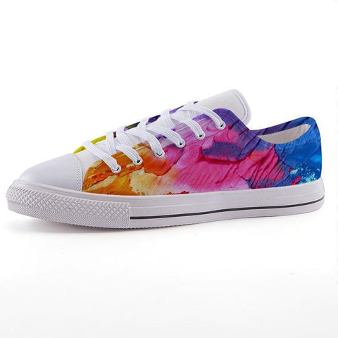 Printy6 Shoes 35 Maletropolis Custom Low-Top Pride Sneakers - Painter