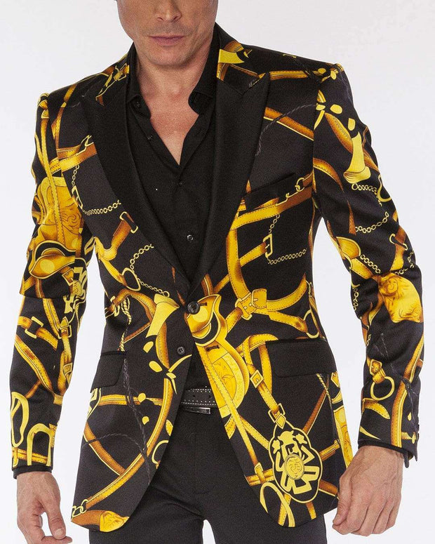 Blazer for Men, Chain2 - ANGELINO