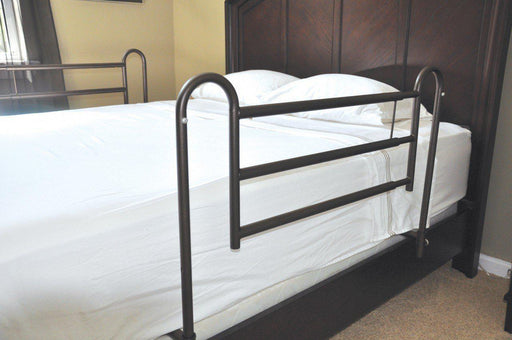 Home Bed Style Adjustable Length Bed Rails  16500bv