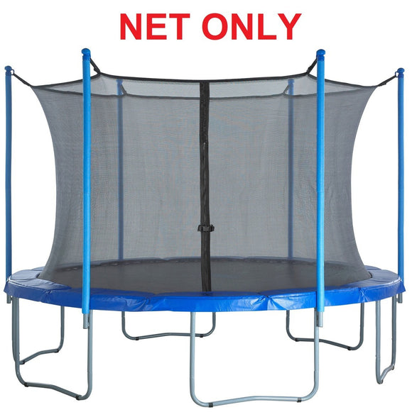 Strap Net Fits 10 Ft Round Frames With 6 Enclosure Poles