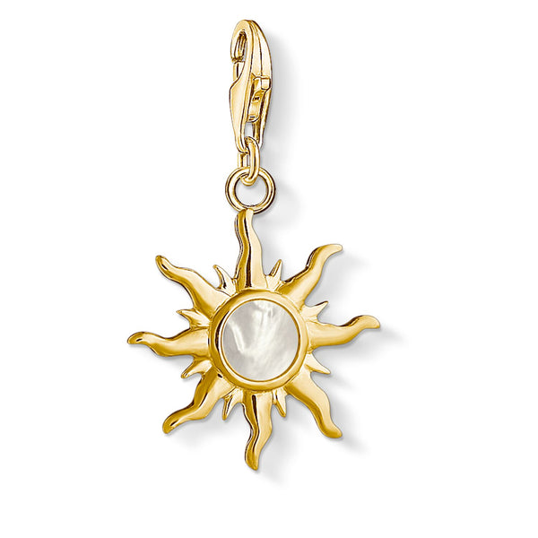 "Charm Pendant ""Sun With Mother-of-pearl Stone"" - THOMAS SABO Malaysia"