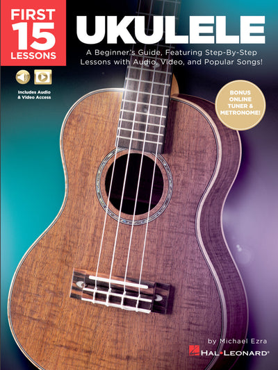 First 15 Lessons – Ukulele book